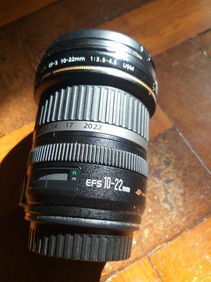 Objetiva Canon 10-22 F3.5/4.5
