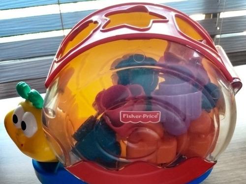 Fisher Price Caracol Con Sonido Bebé Juego Juguetes Figura