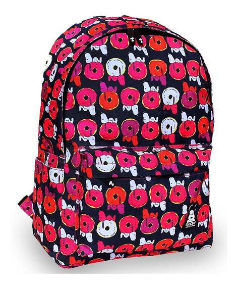 Mochila Snoopy Bross Medidas 40x30x15 Cm Snp6479 *1