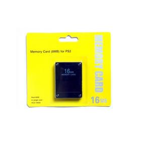 Memory Card 16mb Playstation 2 Ps2 Cartão De Memoria Lacrado