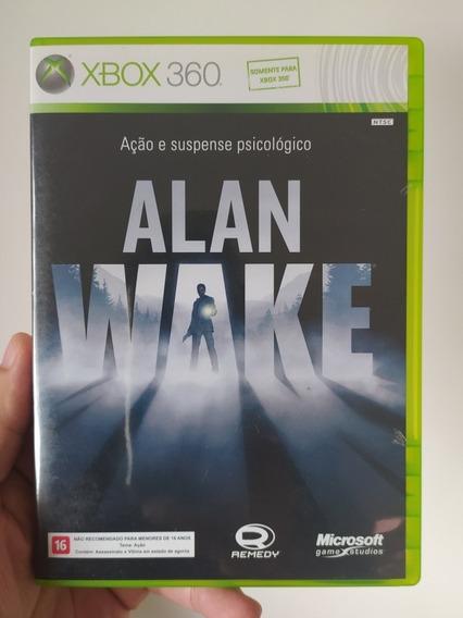 Jogo Alan Wake Original Em Mídia Física Para Xbox 360