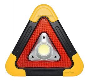 Triangulo P/ Carro Led Sinalização Segurança Emergência