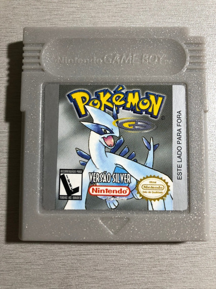 Jogo Pokémon Silver Original - Game Boy Color C/manual
