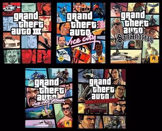 Gta Grand Theft Auto Pack 5 Juegos ~ Ps3 Digital Español