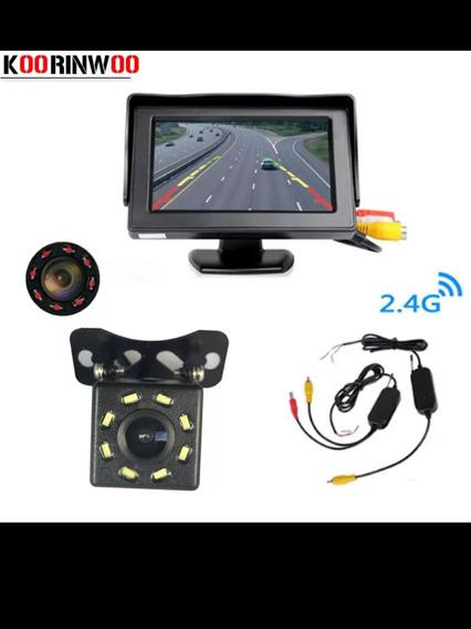 Câmera De Ré Com Monitor