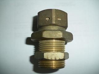 Conector De Bronce 3/4 Con Tuerca Graduable Y Tuerca Movil