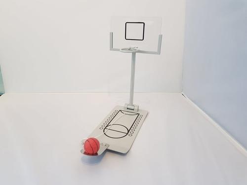 Imagen 1 de 2 de Basket Mini Metalico Juego De Mesa Basquet