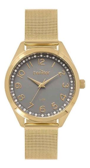 Relógio Condor Feminino Co2035mox/4c Dourado Analogico