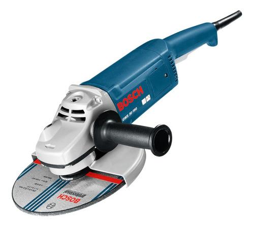Amoladora angular Bosch Professional GWS 20-180  de 50Hz azul 220V