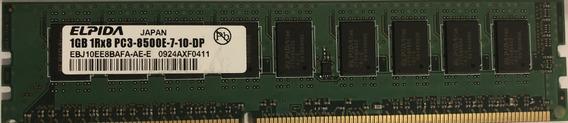 Memoria - Elpida - 1gb 1r8 Pc3 8500 (usada)
