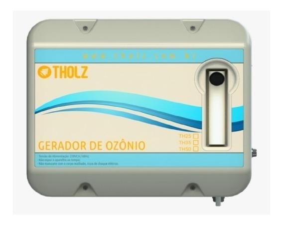 Gerador De Ozônio Th 35 Para Piscinas 35 Mil Litros Tholz