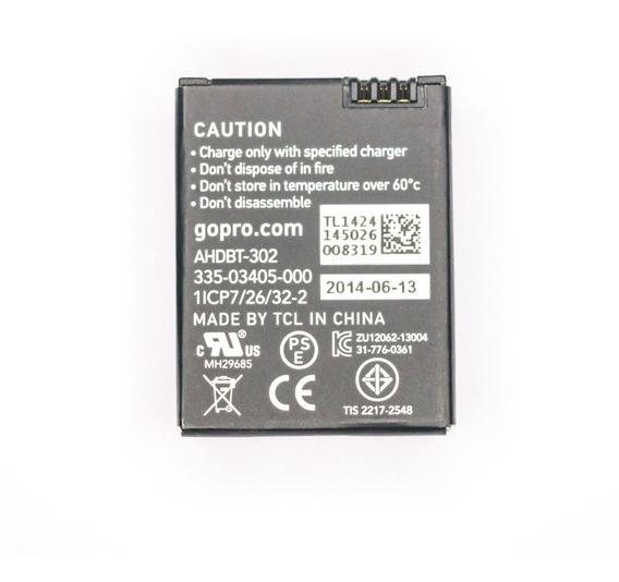 Bateria Original Gopro Hero 3 Ou Hero 3+ Ahdbt302 Semi-nova