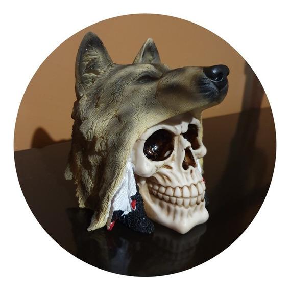 Estatua de Cabeza de Lobo Natural lapisl/ázuli Piedra Tallada Cabeza de Lobo Colgante Collar DIY artesan/ías Atyhao Cabeza de Lobo Colgante