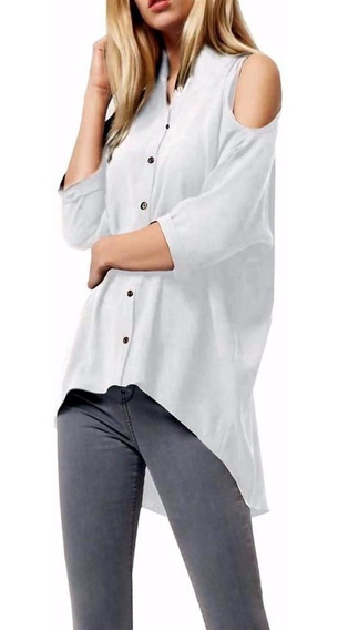 Camisa Seda / Chifon Talle Especial (talle Grandel)