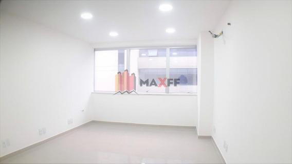 Sala Comercial Para Locação, 21 M² Por R$ 500/mês Estrada Pau-ferro, 480 - Pechincha - Rio De Janeiro/rj - Sa0196
