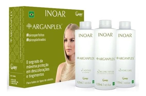 Kit De Tratamento Inoar Arganplex (3 Produtos)