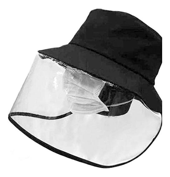 Sombrero Gorro Protector Facial Mascarila Anti Saliva Virus