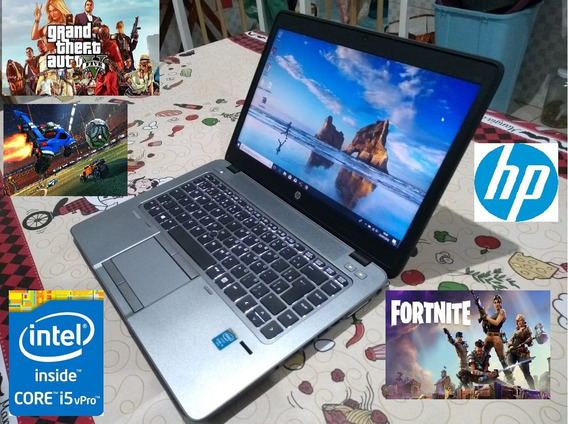 Notebook Hp 840 G2 Core I5 2.30 Ghz Ssd 240 8gb Ram Top