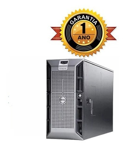 Servidor Dell Poweredge 1900 + 2x Quad + 32gb + 1hd De 1tb