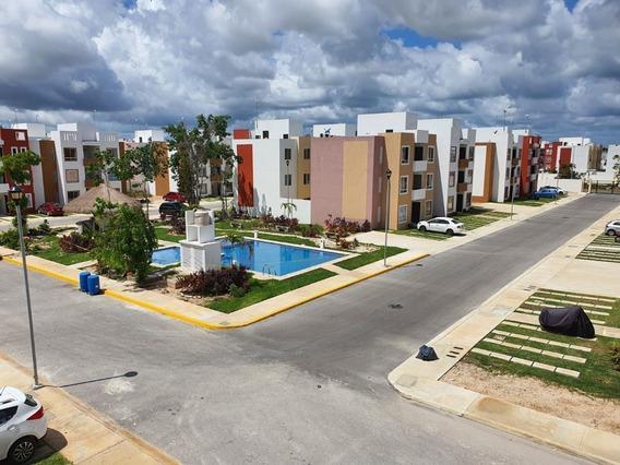 Renta Departamento Amueblado En Con Alberca Cancun