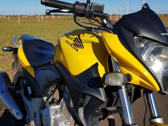 Honda Cb 300r Flex 2012 Amarela