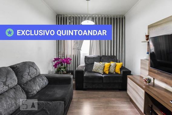 Apartamento No 3º Andar Com 2 Dormitórios E 1 Garagem - Id: 892958499 - 258499