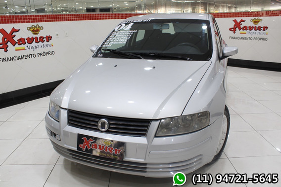 Fiat Stilo 1.8 16v Prata 2004 Financiamento Próprio 2424
