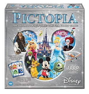 Pictopia-family Juego Preguntas: Disney Edition
