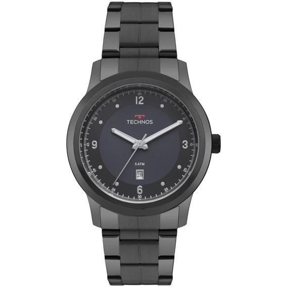 Relógio Technos Masculino Steel 2115mrg/4a Preto