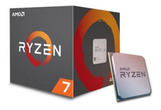 Processador Amd Ryzen 7 1800x Cache 20mb 3.6ghz