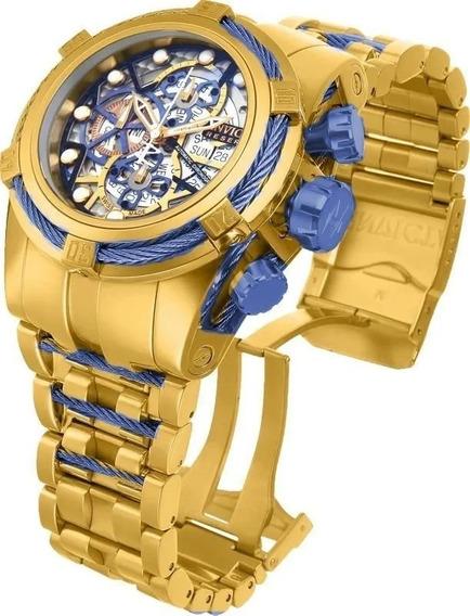 Relógio Invicta Bolt Skeleton 12762 Original Garantia