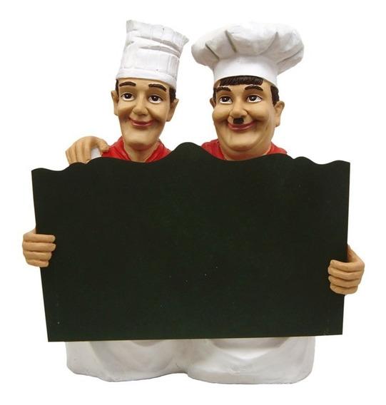 Gordo E Magro Com Lousa P/ Bares, Restaurantes E Rachos