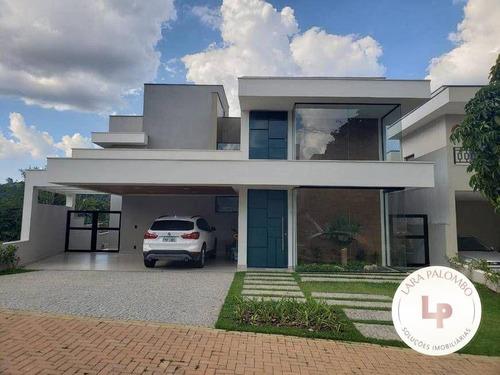 Casa Com 5 Dormitórios À Venda, 365 M² - Reserva Dos Vinhedos - Louveira/sp - Ca0259