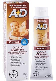 Crema Antipañalitis A+d 113gm 4oz, Previene Pañalitis Bebé