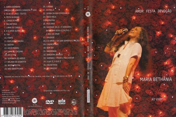 Bethania Maria - Amor Festa Devocao Ao Vivo Dvd - E