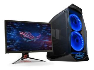 Pc Diseño Gamer Intel I5 9400f Ssd 240gb 16gb Ram Video 2gb