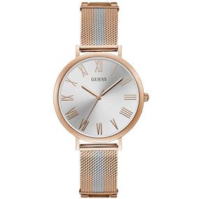 Relógio Guess Feminino Rosê/prata 92711lpgdga2