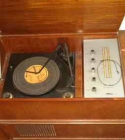 Radio Vitrola Toca Discos Tectron Anos 60