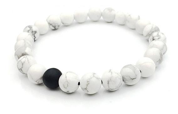 Pulseira Bolinhas Pedras Brancas Vários Modelos