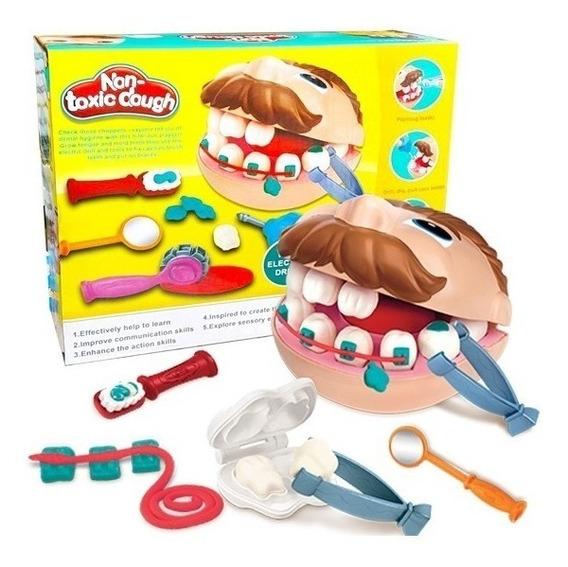 Massinha Brincando De Dentista - Playset