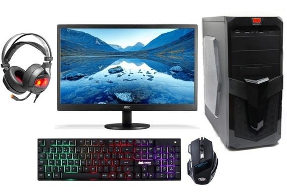 Computador Gamer Completo Amd A10-9700, 8gb Ddr4, 240gb