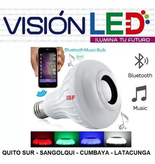 Foco Parlante Bluetooth Multicolor Led