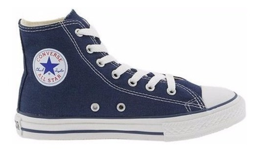 Zapatillas Converse All Star Hi Azul Navy