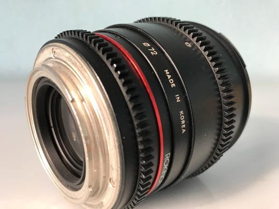 Lente Rokinon 85mm - Canon