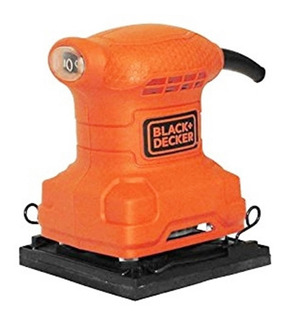 Lijadora 1/4 De Hoja Black And Decker Madera Pallet Ss200b3
