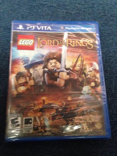 Lord Of The Rings Ps Vita Lego Español
