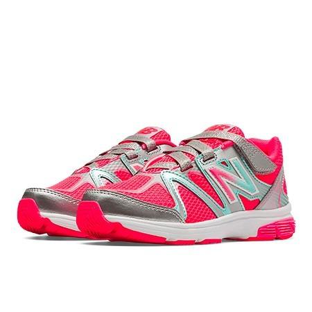 Zapatillas Running New Balance Mujer Rosa Kv697spy Exclusivo