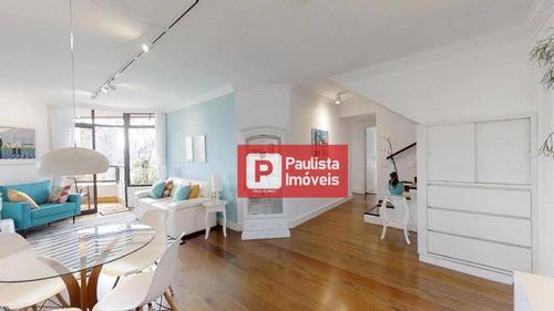 Cobertura Com 4 Dormitórios À Venda, 270 M²  - Brooklin - São Paulo/sp - Co0787