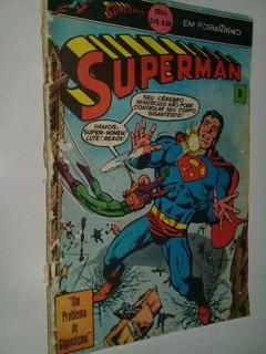 Hq - Superman Formatinho Ebal 8-color-64 Pag-usado