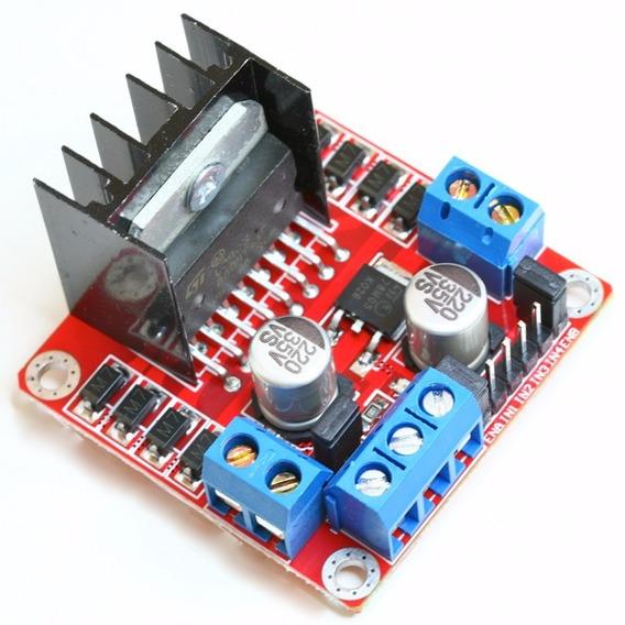 Driver Motor Ponte H Dupla Modulo L298n Arduino Raspberry
